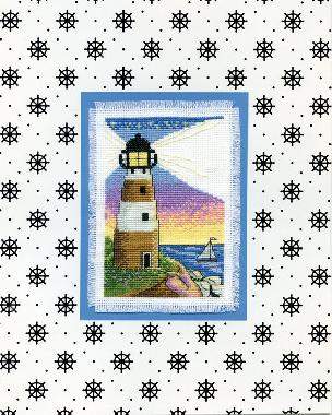 Lighthouse - Stitch and Mat 8 x 10 inch