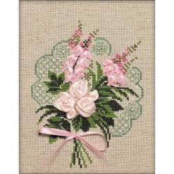 Bouquet Of Tenderness (14 Count) 7 x 9 inches