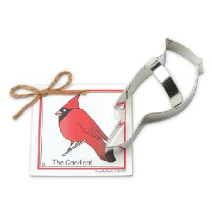 Cardinal Cookie Cutter 5 1/4 inch