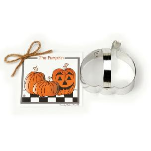 Pumpkin Cookie Cutter 3 1/2 inch