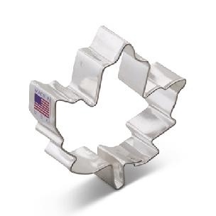 Maple Leaf Cookie Cutter 3 1/8 inch