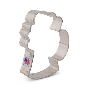 Beer Mug Cookie Cutter 4 1/4 inch