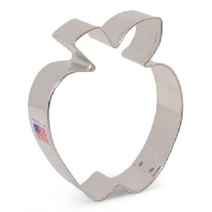 Apple Cookie Cutter 3 1/2 inches