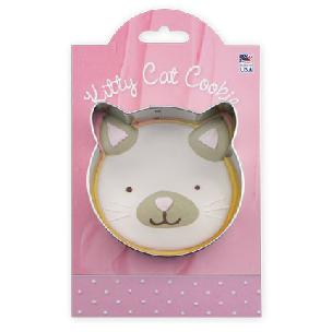 Kitty Cat Cookie Cutter 3 1/2 inch