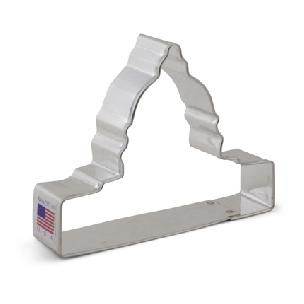 Capitol Building Cookie Cutter 4 inch