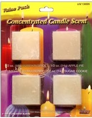 Concentrated Candle Scent Value Pack - Pumpkin Spice, Apple Pie, Mulberry, Sugar Cookie