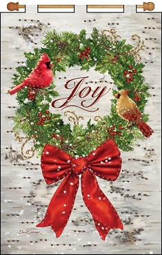 Joy Wreath Jeweled Banner Kit