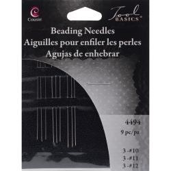 9 pc Assorted Beading Needles - Cousin