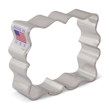 Plaque - Small Fanciful - SweetAmbs'  Cookie Cutter