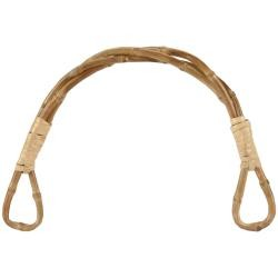 Twisted Bamboo Bag Handle 5-1/2