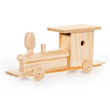 Train - Wood Model Kit - 6-3/4 x 2 inches
